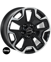 Диски Replica Jeep 9080 BP R17 W8.0 PCD5x127 ET35 DIA71.6