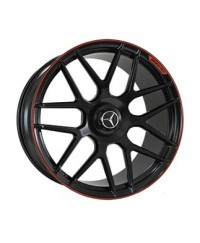 Диски Replica MR957 Satin-Black--With-Red-Strip_Forged R21 W10.0 PCD5x130 ET33 DIA84.1