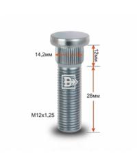 Шпильки колесные Шпилька M12*1,25 28mm CRP142B28, шт