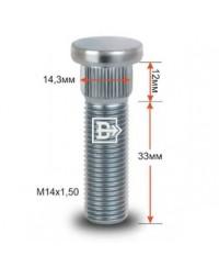 Шпильки колесные Шпилька M14*1,5 33 mm CRP143D33, шт