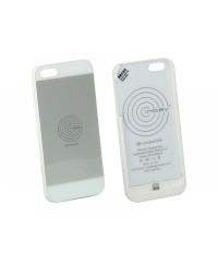 Зарядные устройства Чехол 240000-20-01 для беспроводной зарядки Inbay для iPhone 5/5S white