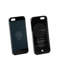 Зарядные устройства Чехол 240000-20-02 для беспроводной зарядки Inbay для iPhone 5/5S black