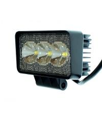 LED-фары ближнего света Светодиодная фара ближнего света AllLight 09T-9W 3 chip EPISTAR 9-30V