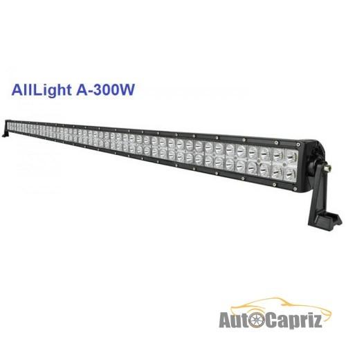 LED-фары комбинированного света Светодиодная фара комбинированного света AllLight A-300W 100 chip CREE