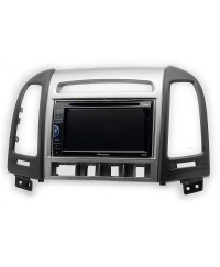 Hyundai Рамка переходная Carav 11-717 2-DIN HYUNDAI Santa Fe 2006-2012 (4 buttons)