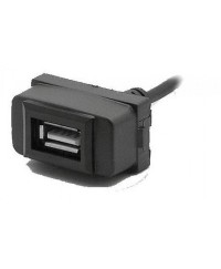 Другое Разъем USB в штатную заглушку Carav 17-007 для MITSUBISHI Lancer/Pajero/Space Wagon (1 порт)