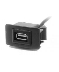 Другое Разъем USB в штатную заглушку Carav 17-005 для а/м  ACURA /HONDA Jazz/City/Civic (1 порт)