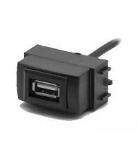 Другое Разъем USB в штатную заглушку Carav 17-006 для а/м NISSAN Almera/Tiida/Teana/Navara (1 порт)