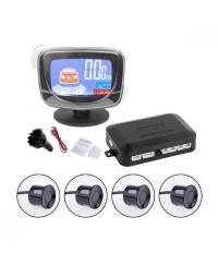 4 датчика Парктроник iDial D065/4 - LCD черный
