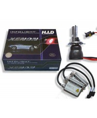 Комплекты биксенон Биксенон. Установочный комплект Infolight H4 H/L 5000K 35W