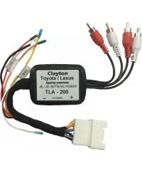 Адаптеры Bluetooth,  Xcarlink, iPod и другие Адаптер усилителя Toyota/Lexus Clayton TLA-200