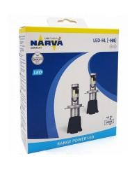 LED- лампы Лампы светодиодные Narva 18004 H4 6000K X2 15,8W