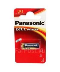 Батарейки Батарейка Panasonic LR1 1 шт/блистер LR1L/1BE
