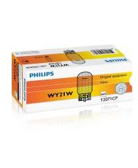Лампы накаливания Лампа накаливания Philips WY21W, 10шт/картон 12071CP