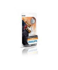 Лампы накаливания Лампа накаливания Philips WY5W, 2шт/блистер 12396NAB2