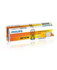 Лампы накаливания Лампа накаливания Philips WY5W, 10шт/картон 12396NACP