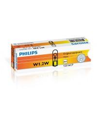 Лампы накаливания Лампа накаливания Philips W1,2W, 10шт/картон 12516CP