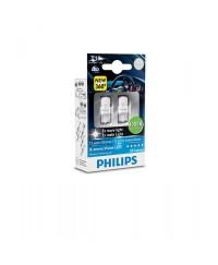 LED-габариты Лампа светодиодная Philips W5W X-Treme Vision LED, 4000K, 2шт/блистер 127994000KX2