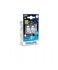 LED-габариты Лампа светодиодная Philips W5W X-Treme Vision LED, 8000K, 2шт/блистер 127998000KX2