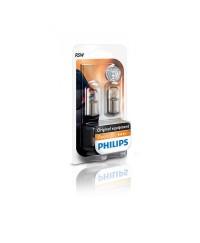 Лампы накаливания Лампа накаливания Philips R5W, 2шт/блистер 12821B2