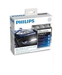 LED-фары (ДХО) Светодиодные (LED) фары PHILIPS 12831WLEDX1 LED 6000К 9 диодов