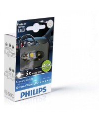 LED-габариты Лампа светодиодная Philips Festoon Vision LED T10.5x38, 4000K, 1шт/блистер 128584000KX1