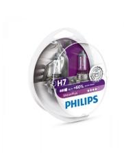 Галогенные лампы Лампа галогенная Philips H7 Vision Plus 2шт блистер 12972VPS2