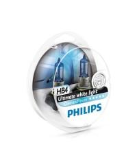 Галогенные лампы Лампа галогенная Philips HB4 Diamond Vision 2шт/блистер 9006DVS2