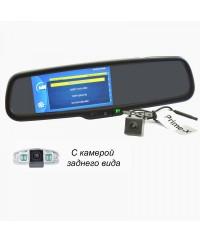 Зеркала с монитором и видеорегистратором Зеркало заднего вида со встроенным Full HD видеорегистратором и камерой Prime-X 050D