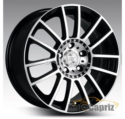 Диски RS Tuning H-408 BKFP R15 W6.5 PCD5x112 ET38 DIA66.6