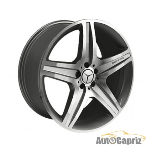 Диски Replica Mercedes MR968 GMF R21 W10 PCD5x112 ET46 DIA66.6