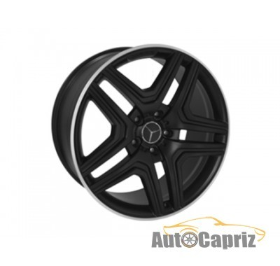 Диски Replica Mercedes MR975 MBL R21 W10 PCD5x130 ET50 DIA84.1