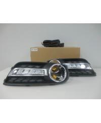 LED-фары (ДХО) Светодиодные (LED) фары Pentair NS-364A Nissan Tiida 2011