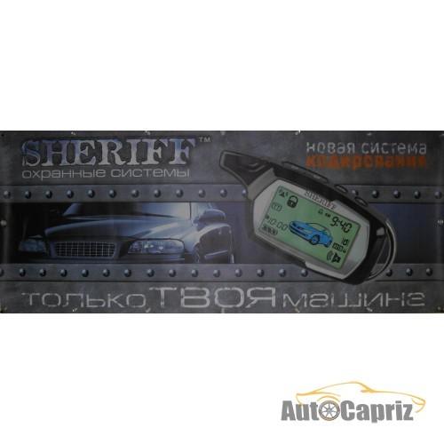 Рекламная продукция Баннер Sheriff 1.7х0.7м с брелком