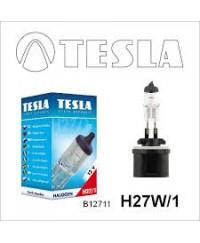 Галогенные лампы Лампа галогенная Tesla H27W/1 (PG13) 12V, 27W B12711