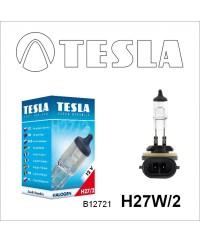 Галогенные лампы Лампа галогенная Tesla H27W/2 (PGJ13) 12V, 27W B12721